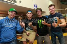 Fredrik Lindgren (Šve); Tai Woffinden (VB); Chris Holder (Avs); Matej Žagar (Slo)