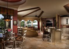 Best in Class in Two Versions - 31803DN | European, Florida, Mediterranean, Spanish, Luxury, Photo Gallery, Premium Collection, 1st Floor Master Suite, Butler Walk-in Pantry, CAD Available, Jack & Jill Bath, Media-Game-Home Theater, PDF | Architectural Designs