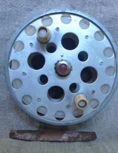 Vintage fly fishing reel spinning fishing reel by vintagefullhouse, $22.00