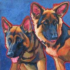 Search and Rescue German Shepherds colormutt.com