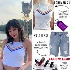 Halter Crop Top, Forever 21, Shorts, Tank Tops, Classic, Outfits, Women, Style, Fashion