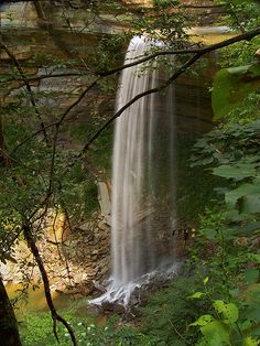 Tunnel Falls, Clifty Falls State Park ~ Indiana