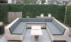 U-vorm loungesets Archive | Steigerhouten loungesets en tuinbankenSteigerhouten loungesets en tuinbanken