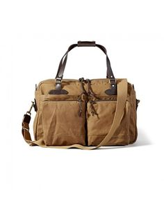 552225f4e000 48 Hour Duffle by Filson from Oyster Bamboo Fly Rods Vogue
