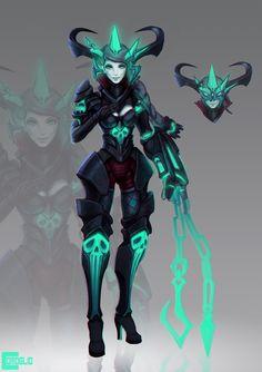 Grave Maiden on Behance