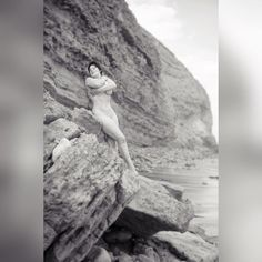 That's my 'finally I don't think the waves can get me here' face.  Image by @fotoinsight  #artnude #nudeart #naturism #naturist #nudeinnature #nudist #fairy #nymph #fineartnude #filmnoir #artnouveau #aesthetic #blackandwhite #bnw #bw #rockclimbing #beach #strongwomen #strongnotskinny #sensual #beauty #wild #natural #free #nude #bellsbeach #nudebeach by madelyn_winter http://ift.tt/1KnoFsa