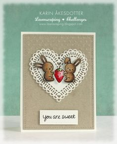 Lawnscaping Challenge: Lawnscaping Challenge: EMBOSSING sponsored by LAWN FAWN
