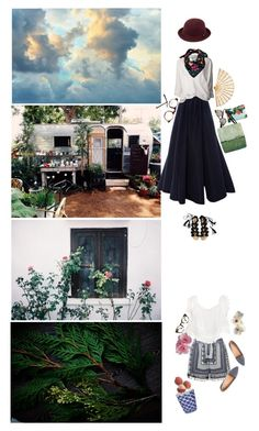 """""""garden party"""" by minyi-reka ❤ liked on Polyvore"""