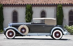 1931 Lincoln Model K Convertible Victoria with custom coachwork by Waterhouse & Co.