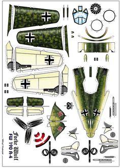 Focke Wulf FW190A 4 | Tom Wigley | Flickr