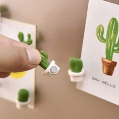 SUJING Cute Succulent Plant Magnetic Refrigerator Magnets Cute Home Decor Refrigerator Stickers Creative Notice Message Magnetic Stickers Gift (White) Polymer Clay Crafts, Diy Clay, Whiteboard Sticker, Clay Magnets, Polymer Clay Magnet, Fridge Stickers, Cute Home Decor, Clay Projects, Clay Creations