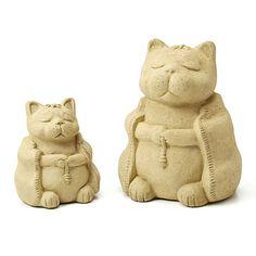 Look what I found at UncommonGoods: Zen Cat Garden Sculpture for $NaN #uncommongoods