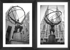 New York City Atlas Statue at St. Patrick's Cathedral--Alex Fleck