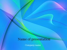 Free Microsoft PowerPoint Templates | Download free Blue fantasy Powerpoint template for presentation
