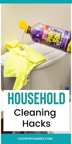 Simple but effective household hacks that you need to know to do daily to make life easier for you. #cleaning#cleaninghacks#householdhacks#cleaningtips#householdtips