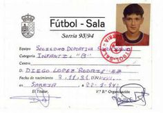 Hijos del Futsal -- Liga Nacional de Futbol Sala. Diego López (portero del Real Madrid) Journal, Real Madrid Goalkeeper, Index Cards, Sons, Journal Entries, Journals