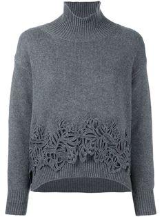 Ermanno Scervino свитер с вышивкой