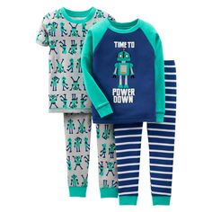 Just One You� Made by Carters� Toddler Boys Robot Pajama Set