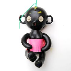 Winky Dolls. Something else that we seemed to like hanging on our duffel bags......