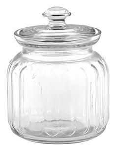 Bonbonnière en verre 0,9L Viva – Pasabahce: Bonbonnière en verre 0,9L Viva 1613495 - Pasabahce Bonbonnière en verre avec un joint en…