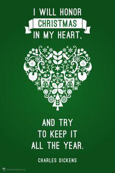 Christmas words of wisdom, via Aphrodite's World, www.aphroditesworld.com