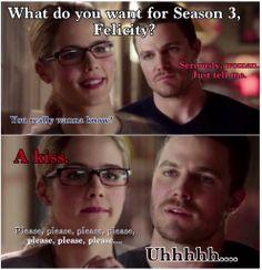 #Arrow #Olicity #Season 3 Arrow Olicity Pic by fourchickies.