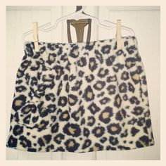 Girls Animal Print Fleece Bow Skirt Sz 2T by MaddieDreeBoutique, $22.00
