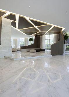 Robarts Spaces - Geometric Granite