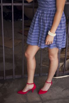 #ankle #Heels #red #white #blue #tommy #hilfiger #Ootd #wiw Tommy Hilfiger IMG_8078