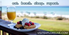 Breakfast at BeachWalk Cafe