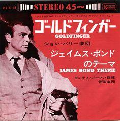 Goldfinger  James Bond Theme  United Artists  45S-87-UA