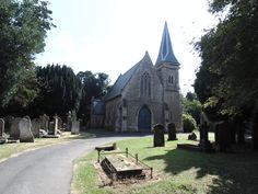 Cemetery Chapel. Wellingborough. Medieval Town, Cemetery, Mansions, House Styles, Mansion Houses, Memorial Park, Manor Houses, Villas, Fancy Houses