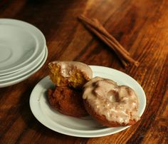 pumpkin spice old-fashioned donuts