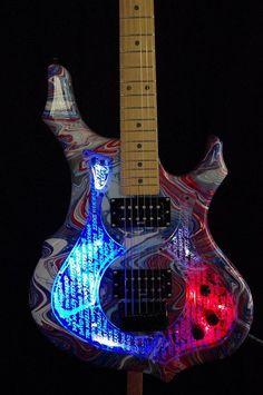 Custom Electric Guitar #electricguitar