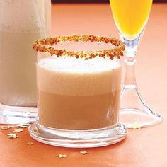 This Snappy Chai Eggnog is the perfect way to begin or end the night! | http://www.rachaelraymag.com/Recipes/rachael-ray-magazine-recipe-search/drink-cocktail-recipes/snappy-chai-eggnog