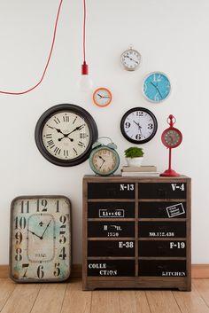 Relógios, relógios e mais relógios...