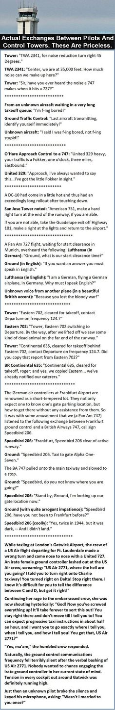 Who said pilots don't have a sense of humor? > I think I may have just died laughing XD