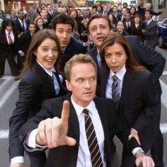 Himym - Wait for it..... eh Barney? Suit up!
