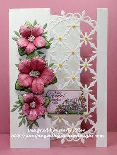 CC637, SC647, WT638, Petunias by guneauxdesigns - Cards and Paper Crafts at Splitcoaststampers #HeartfeltCreations