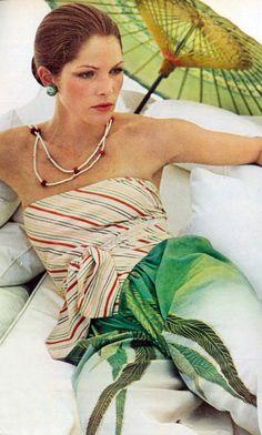 Vogue 73 Lois Chiles by Chris von Wangenheim