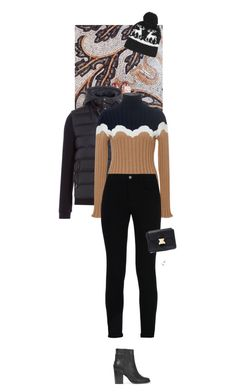 """""""Outfit of the Day"""" by wizmurphy ❤ liked on Polyvore featuring Woolrich, Parden's, STELLA McCARTNEY, rag & bone, Christopher Kane, J.Crew, Topshop, ootd and turtleneck"""