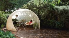 Your Very Own Crystal Maze in Your Back Garden, Courtesy of Garden Igloos and Solardome