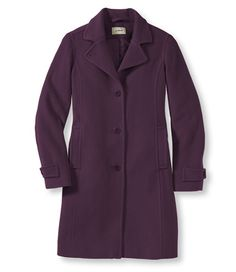 Classic Lambswool Polo Coat, Three-Quarter: Casual Jackets   Free Shipping at L.L.Bean. Really warm, but surprisingly lightweight.
