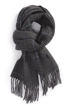 Free shipping and returns on Polo Ralph Lauren Double Face Scarf at Nordstrom.com. A pair of rustic patterns defines a two-sided scarf shaped from a soft lambswool blend.