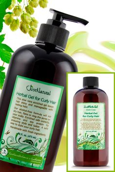 Herbal Gel For Curly Hair   Frizz Hair - Gels   Just Nutritive