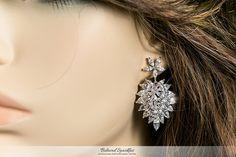 RHIANA MARQUISE CLUSTER STATEMENT CHANDELIER EARRING | 8 Carat | Cubic Zirconia