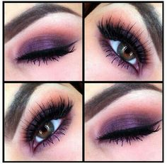 Eye Makeup Purple