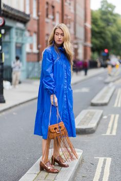 The Best Street Style at London Fashion Week Spring 2018