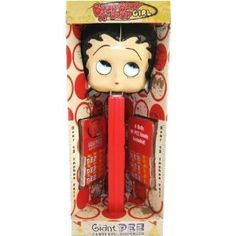 Giant Betty Boop PEZ Dispenser (Misc.) http://www.amazon.com/dp/B001CRJD2G/?tag=mnnean-20 B001CRJD2G