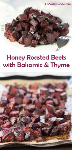 honey roasted beets with balsamic and thyme honey roasted beets with ...